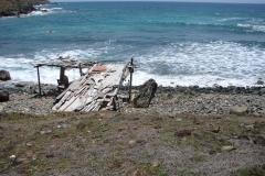 St.-Maarten-0362-Hut-van-aangespoeld-wrakhout