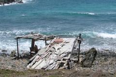 St.-Maarten-0363-Hut-van-aangespoeld-wrakhout